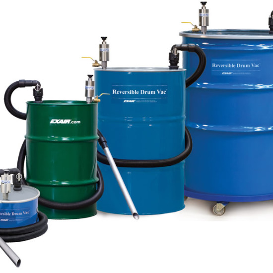 exair-Reversible Drum Vac